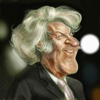 Donald Sutherland Caricature by jonesmac2006