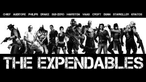 The Expendables (Video Game Version) by damianf86