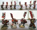 White Scars Samurai troops by orcbruto