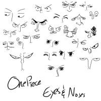 OP: Eyes and Noses by BlueRiser