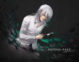 PSYCHO-PASS: Makishima by Alicere