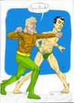 Aquaman vs Namor Colours by crazyjedichicken
