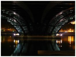 Under the bridge downtown by enkyl
