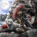 Wolf Pack by SheltieWolf
