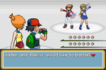 Ash and Misty vs Jaden and Alexis by BeeWinter55