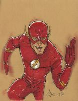 The Flash (Sketch Dailies) by patrickianmoss