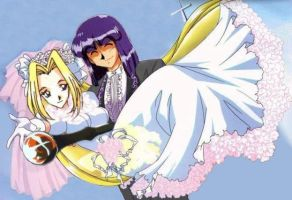 Slayers - Xell-Filia Wedding by eablevins
