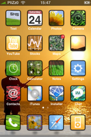 Sunny Days iPhone Theme by Plizzo
