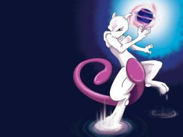 Mewtwo by Toraigan
