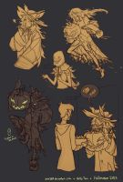 Scarecrow Sketchies by Zae369