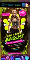 Junglist Summer Sessions Flyer by quickandeasy1