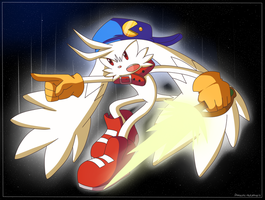 Super Klonoa And His Sword by Domestic-hedgehog