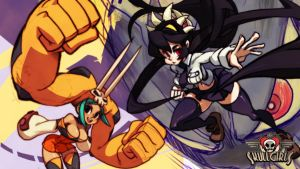 Skullgirls wall by littlemickey7