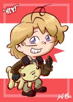 Hetalia Canada Art Card by kevinbolk