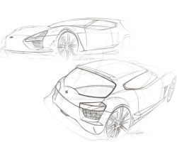 Nissan sketch by magao