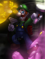 Luigi's Mansion by ScittyKitty