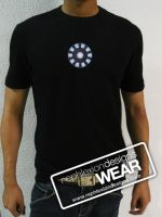 Stark Arc Reactor Shirt by flubberzz