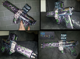 Caustic Infinity Gun Prop by CheesyChan