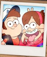 Dipper and Mabel by askAlyssaGF