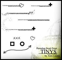 Photoshop Brush Preset: Tinys by alexloony