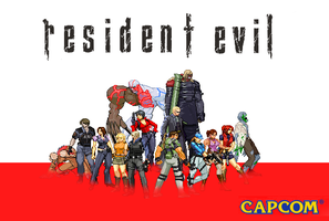 Resident evil by Riklaionel