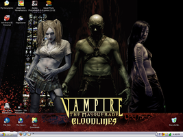 My desktop - Bloodlines by slyvenom