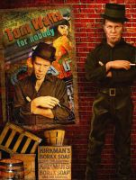 Tom Waits Custom Doll by kingsley-wallis