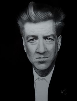 David Lynch by BladaMerry