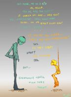 Conversations with Myself by Kid-Kapow