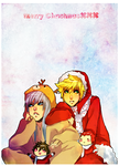 kh: a lazy christmas by animegirl000