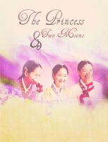 The Princess and Two Moons by Baobaobei
