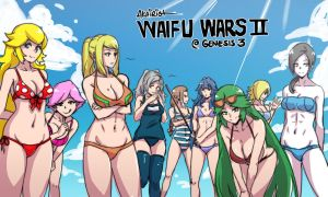 waifu wars ii: electric boogaloo by akairiot