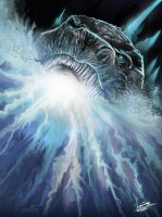 GODZILLA-THE ATOMIC BREATH by Danthemanfantastic