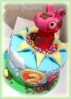 Peppa Pig Birthday Cake! by gertygetsgangster