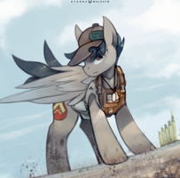 Lance Corporal Horse by FoxInShadow