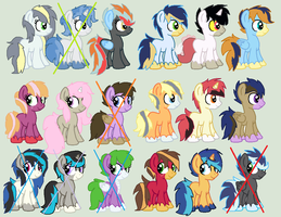 Mlp Big Shipping Adopts #1 by XxDipperKittyXx
