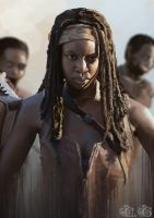 The Walking Dead - Michonne by Ayane45