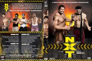 WWE NXT November 2013 DVD Cover by Chirantha