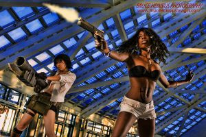 Action Girls by Brucer007