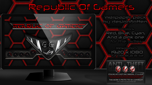 Ripublic Of Gamers Wallpaper Pack by Designfjotten