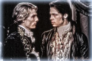 Lestat and Louis by 666BloodWolf666