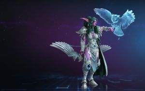 Tyrande Whisperwind, High Priestess of Elune by Mr--Jack