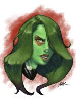 FanArt - Gamora by Bostonology
