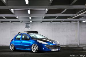 Peugeot 207 by mitsukodesign