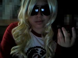 Female Dave Strider: What? by Jessipoodle