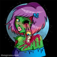 Monster Girls: Zombie by dsoloud