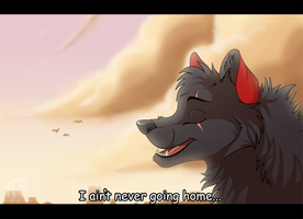 Never Going Home by WindWo1f