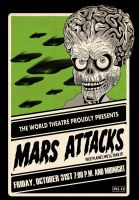 MARS ATTACKS! Event Poster by after-the-funeral