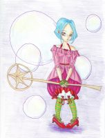 Magical Girl traditional by dinkydivas