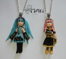 Miku and Luka Doll by Makicreazion